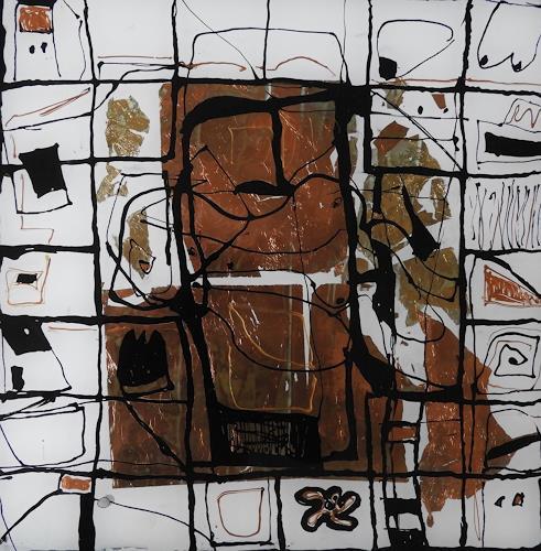 Heidrun Becker, Geschichten, Abstract art, People, Abstract Art, Abstract Expressionism
