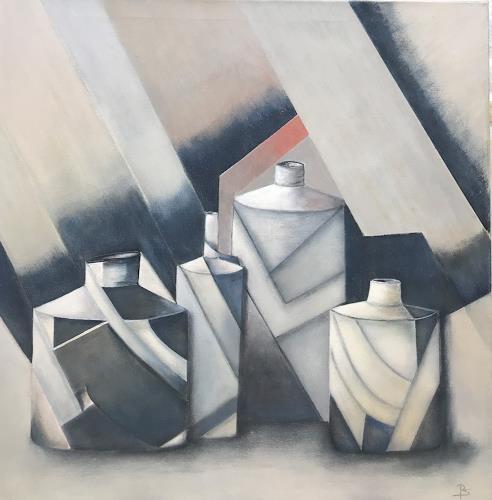 Rosemarie Salz, Geometrische Auflösung, Interiors: Rooms, Concrete Art, Expressionism