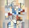 Rosemarie Salz, Farbenspiel 2, Abstract art, Abstract Art