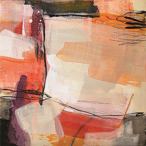 Maria Martin, Abricot, Abstract art, Decorative Art, Non-Objectivism [Informel]