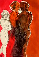 Ellen-Bittner-People-Group-Nude-Erotic-motifs-Contemporary-Art-Contemporary-Art