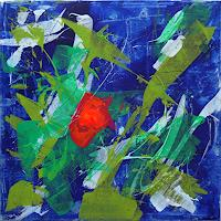 Ellen-Bittner-Miscellaneous-Plants-Abstract-art-Contemporary-Art-Contemporary-Art