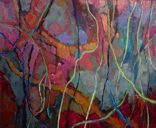 Monika Dold, Im Übergang, Abstract art, Nature: Miscellaneous, Abstract Art