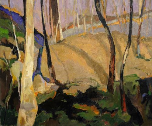 Monika Dold, Belforte, Abstr. I, Landscapes: Hills, Landscapes: Autumn, Abstract Art
