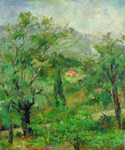 Monika Dold, Grüne Toskana, Nature: Earth, Landscapes: Summer, Impressionism