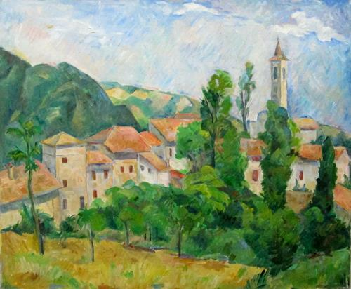 Monika Dold, Besozzola, Landscapes: Mountains, Architecture, Impressionism