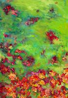 Monika-Dold-Plants-Flowers-Abstract-art-Modern-Age-Abstract-Art-Colour-Field-Painting