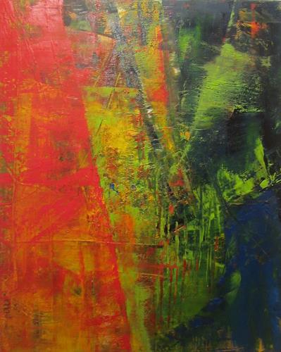 ElisabethFISCHER, 0-T., Abstract art, Abstract Art
