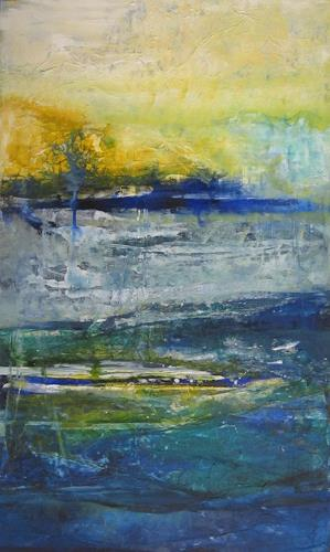 ElisabethFISCHER, o.T., Landscapes: Sea/Ocean, Abstract Art