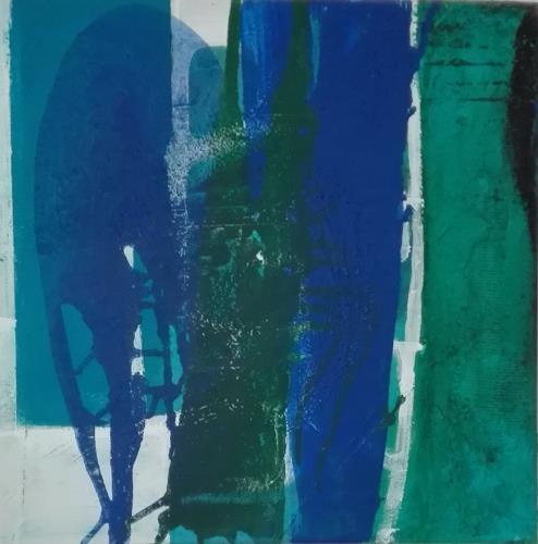 ElisabethFISCHER, O.T., Landscapes: Sea/Ocean, Abstract Art