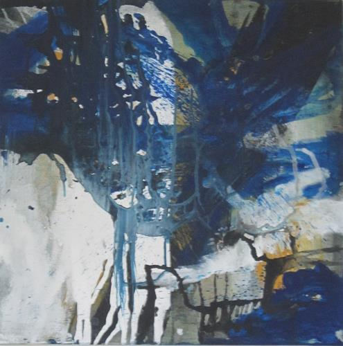 ElisabethFISCHER, 0.T., Landscapes: Summer, Abstract Art, Abstract Expressionism
