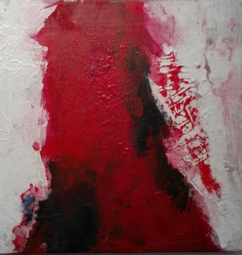 ElisabethFISCHER, ROT 1, Abstract art, Abstract Art, Abstract Expressionism