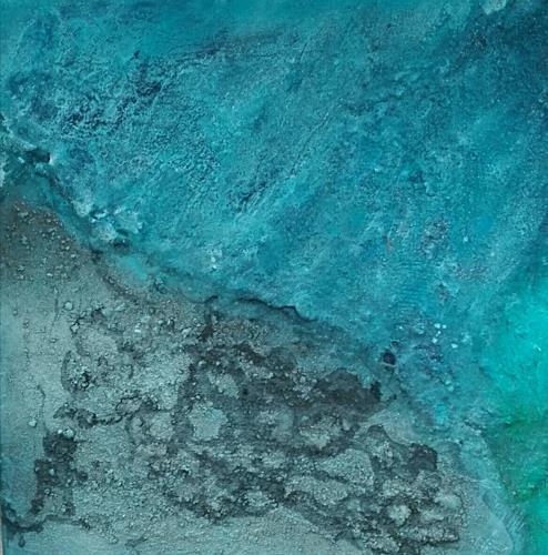 ElisabethFISCHER, Zick II, Landscapes: Sea/Ocean, Abstract Art