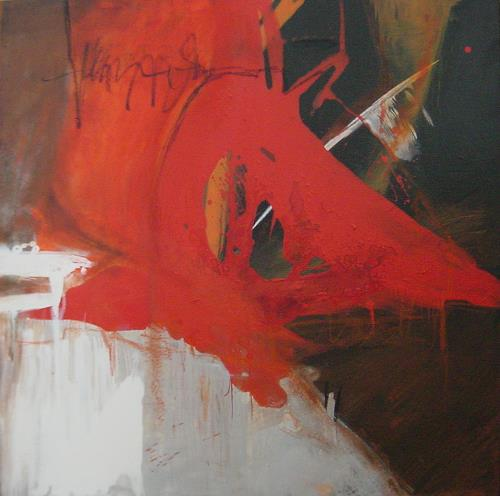 ElisabethFISCHER, Almbauer läßt grüßen, Abstract art, Abstract Art