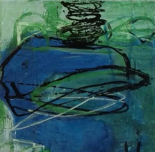 ElisabethFISCHER, O.T., Abstract art, Abstract art, Abstract Art, Abstract Expressionism