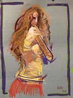 Vicky-Fuchs-People-Women-Erotic-motifs-Female-nudes-Modern-Age-Abstract-Art