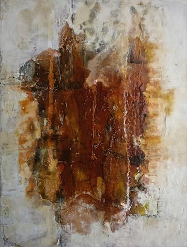 Andrea Titscherlein, das Kleine im Großen, Abstract art, Miscellaneous Landscapes, Non-Objectivism [Informel], Abstract Expressionism