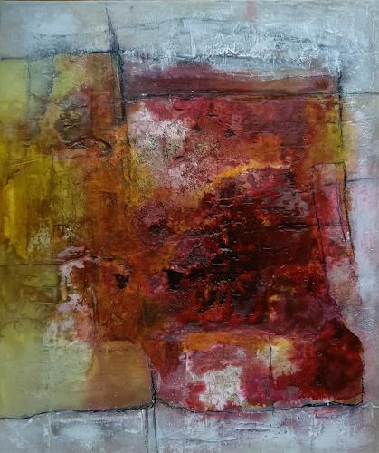 Andrea Titscherlein, nah beieinander, Abstract art, Abstract art, Abstract Art, Expressionism