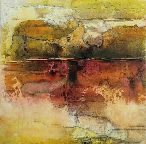 Andrea Titscherlein, getrennt und doch vereint, Abstract art, Miscellaneous Landscapes, Non-Objectivism [Informel]