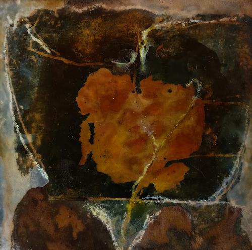 Andrea Titscherlein, noch im Dunkeln, Plants: Flowers, Contemporary Art
