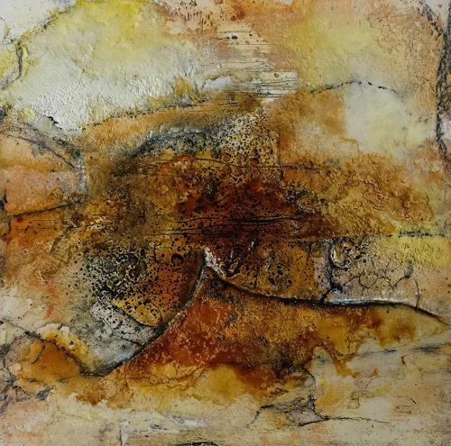 Andrea Titscherlein, o.T., Miscellaneous Landscapes, Abstract art, Non-Objectivism [Informel]
