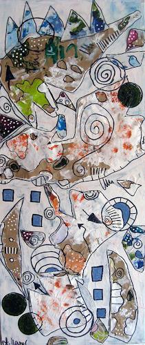 Andrea Kasper, Fernwanderweg, Nature, Emotions, Abstract Art, Expressionism