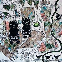 Andrea-Kasper-Abstract-art-Animals-Contemporary-Art-New-Image-Painting