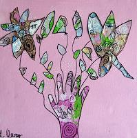 Andrea-Kasper-Abstract-art-Plants-Flowers-Modern-Age-Abstract-Art
