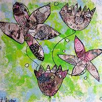 Andrea-Kasper-Plants-Flowers-Abstract-art-Modern-Age-Abstract-Art
