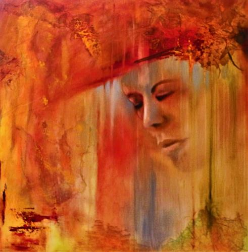 Beatrice Gugliotta, Herbst, People: Women, Nature: Miscellaneous, Modern Age, Expressionism
