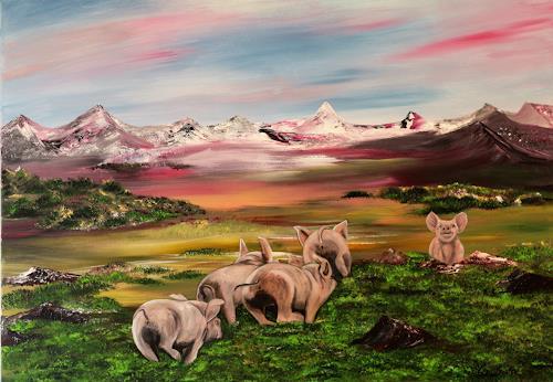 Beatrice Gugliotta, Glück, Landscapes, Animals, Land-Art