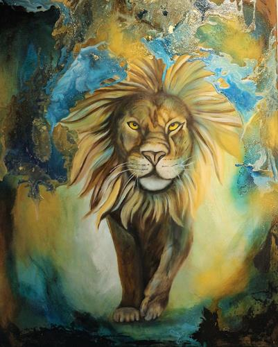 Beatrice Gugliotta, lion king, Animals: Land, Nature, Modern Age