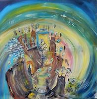 BRIGITTE-Burlesque-Abstract-art
