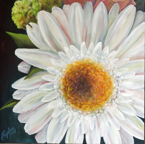 Angelina Casadei, Gerbera, Plants: Flowers, Poetry, Environment Art