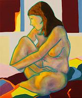 DAniela-Benz-Erotic-motifs-Female-nudes-People-Women-Contemporary-Art-New-Image-Painting