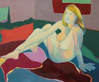 DAniela-Benz-People-Women-Erotic-motifs-Female-nudes-Contemporary-Art-New-Image-Painting