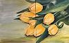 B. C. Davila, Gelbe Tulpen, Plants: Flowers, Realism