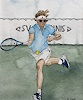 B. C. Davila, Tennisspieler
