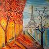 ibnulmehdi, ???? ??????.  (Tag zu Nacht in Paris Eiffelturm)  im Regen)?????