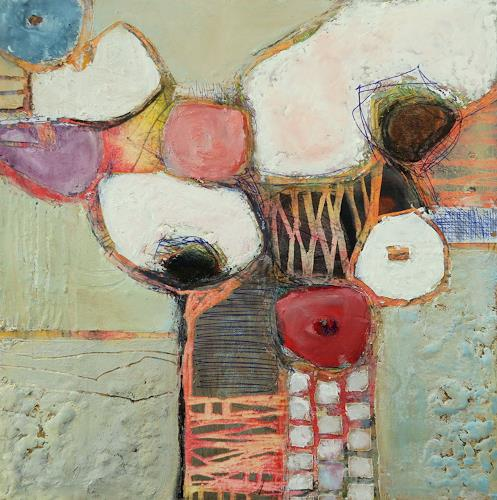 Angela Fusenig, Muschelherz, Miscellaneous Plants, Plants: Flowers, Contemporary Art, Expressionism