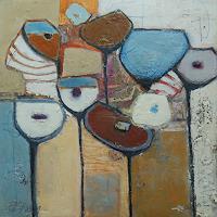 Angela-Fusenig-1-Plants-Flowers-Abstract-art-Contemporary-Art-Contemporary-Art