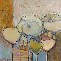Angela-Fusenig-1-Plants-Flowers-Still-life-Contemporary-Art-Contemporary-Art
