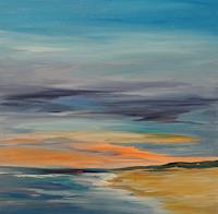 Angela-Fusenig-1-Landscapes-Sea-Ocean-Miscellaneous-Landscapes-Contemporary-Art-Contemporary-Art