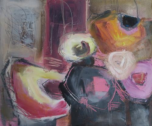 Angela Fusenig, O.T. | Serie Farbstücke |, Plants: Flowers, Still life, Contemporary Art