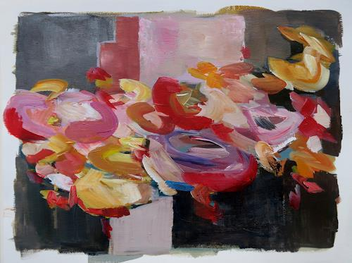 Angela Fusenig, Rock me all the time, Abstract art, Plants: Flowers, Contemporary Art