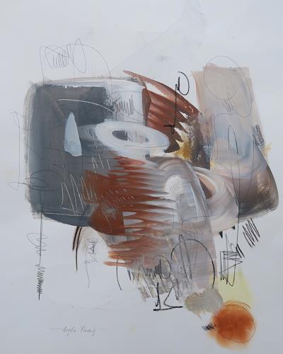 Angela Fusenig, O.T., Abstract art, Miscellaneous, Non-Objectivism [Informel]