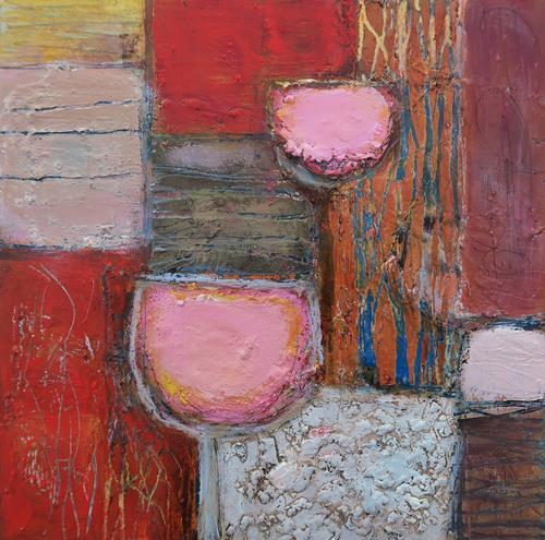 Angela Fusenig, O.T.| Serie Begegnungen, Abstract art, Still life, Contemporary Art