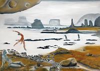 Claudia-Erbelding-Landscapes-Beaches-People-Couples-Contemporary-Art-Post-Surrealism