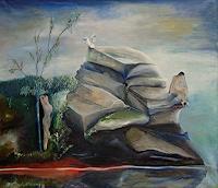 Claudia-Erbelding-Landscapes-People-Couples-Contemporary-Art-Post-Surrealism