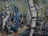 Claudia-Erbelding-Plants-Trees-People-Women-Contemporary-Art-Post-Surrealism